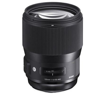 Sigma for Nikon 135mm f/1.8 DG HSM Art (A).