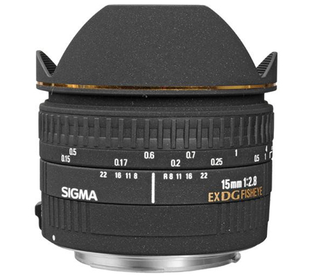 Sigma for Canon 15mm f/2.8 EX DG Fisheye