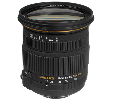 Sigma for Nikon 17-50mm f/2.8 EX DC OS HSM