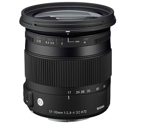 Sigma for Nikon 17-70mm f/2.8-4 DC Macro OS HSM Contemporary (C).