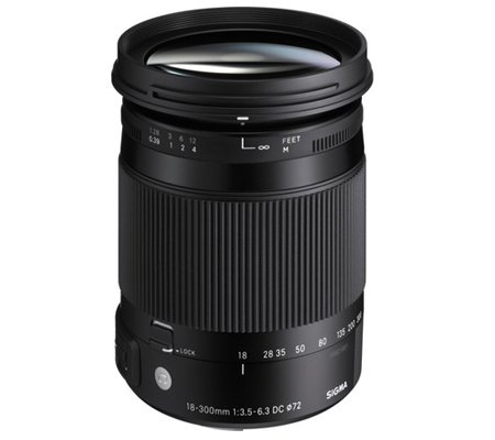 Sigma for Canon 18-300mm f/3.5-6.3 DC MACRO OS HSM Contemporary (C)
