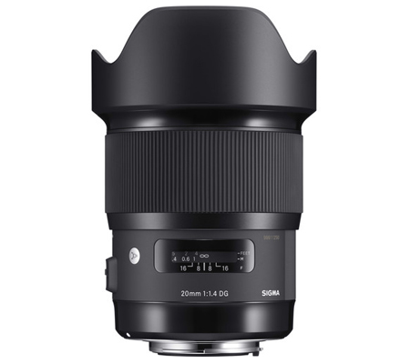 Sigma for Canon 20mm f/1.4 DG HSM Art (A)