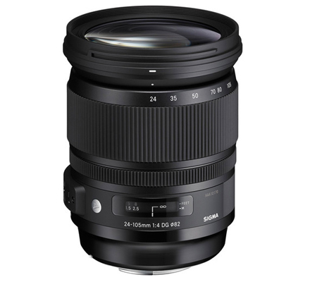 Sigma for Canon 24-105mm F4 DG OS HSM Art (A).