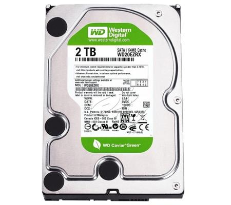 Western Digital Caviar Green 2TB SATA 3 GB/s, 64 MB Cache (WD20EARX)