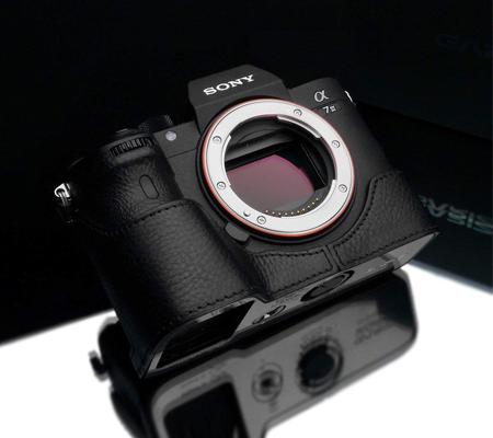 Gariz Halfcase for Sony A7 III Black XS-CHA7M3BKO