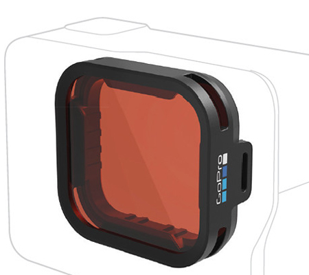 GoPro Bluewater Snorkel Filter for GoPro HERO6/HERO5 Black (AACDR-001)