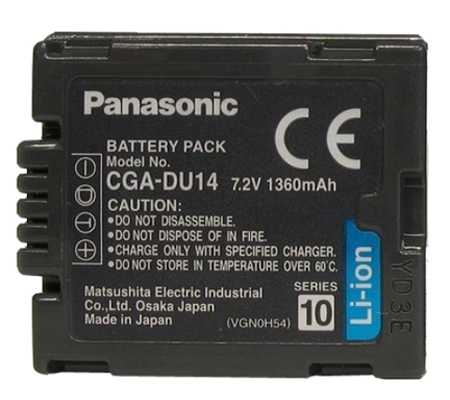 ATTitude Panasonic CGA-DU14 Battery