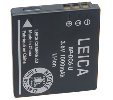 Leica BP-DC6 Battery (18675) For Leica C-LUX 2/ C-LUX 3