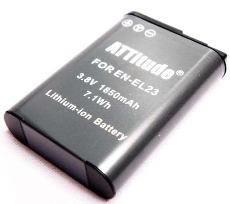 ATTitude EN-EL23 For Nikon P900/ P610S/ S810/ P600