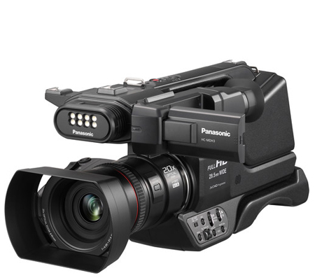 Panasonic HC-MDH3 Full-HD Camcorders.