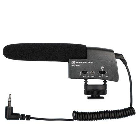 Sennheiser MKE 400 Small Shotgun Microphone