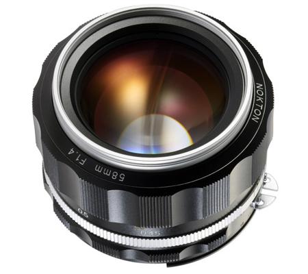 Voigtlander for Nikon Nokton 58mm f/1.4 SL II S Lens Silver