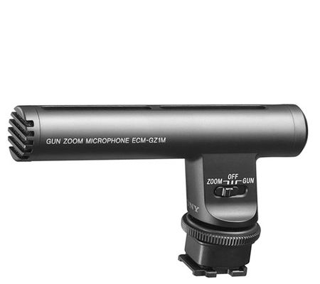 Sony ECM-GZ1M Zoom Microphone for Cameras with Multi-Interface Shoe