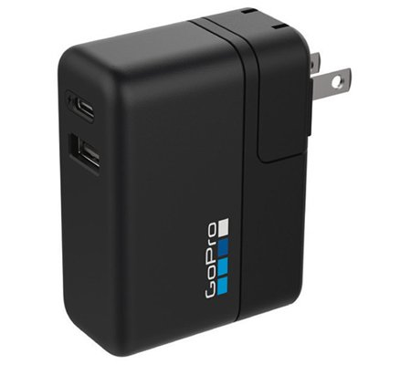 GoPro Supercharger (Dual Port Fast Charger) (AWALC-002)