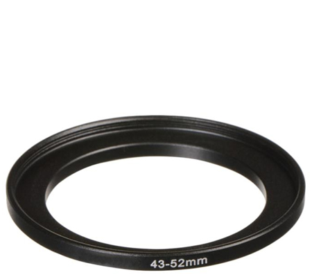 3rd Brand Step Up Ring 43-52mm