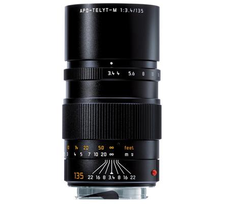 Leica 135mm f/3.4 APO-TELYT Elmar-M Black (11889)