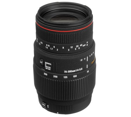 Sigma for Canon 70-300mm f/4-5.6 APO MACRO DG