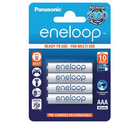 Panasonic Eneloop AAA 750mAh 4pcs