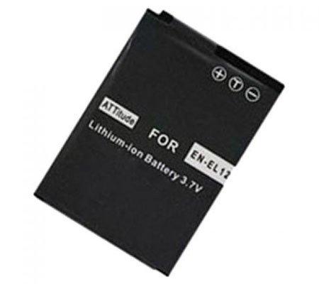 ATTitude Nikon EN-EL12 Battery for Nikon Coolpix S1000pj/ S1100pj/ S6000/ S610/ S620