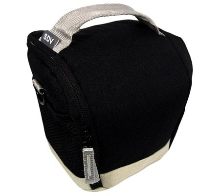 SDV 502C Mirrorless Camera Bag Black