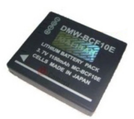 Malibah Panasonic CGA-BCF10E Battery for Lumix DMC ZS1 / ZS3 / TZ6 / TZ7