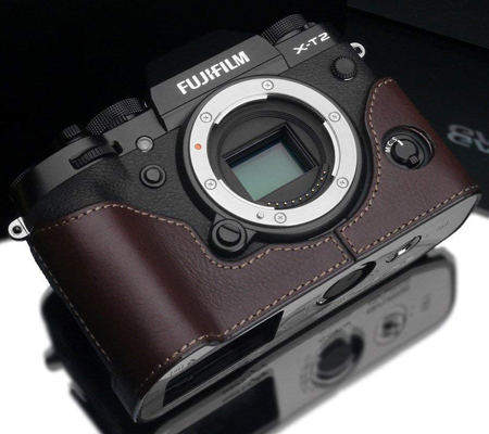 Gariz Halfcase for Fujifilm XT2 (XS-CHXT2 Brown)