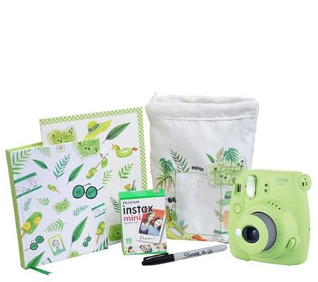 Fujifilm Holiday Package Instax Mini 9 Lime Green