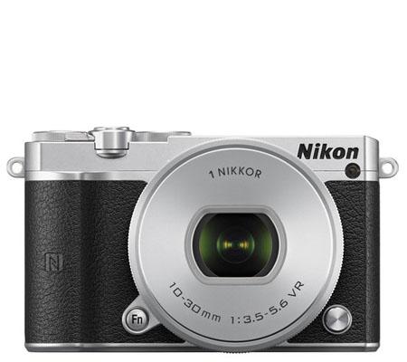 Nikon 1 J5 Kit VR 10-30mm f/3.5-5.6 PD-Zoom Silver