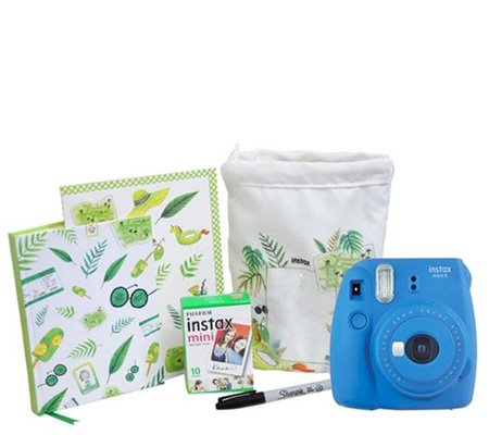 Fujifilm Holiday Package Instax Mini 9 Cobalt Blue
