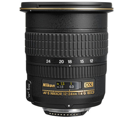 Nikon AF-S 12-24mm f4G DX IF-ED.