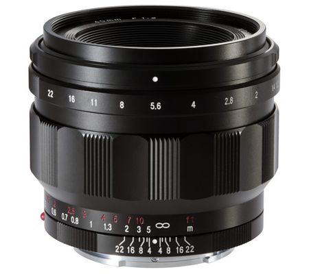 Voigtlander for Sony E Nokton 40mm f/1.2 Aspherical