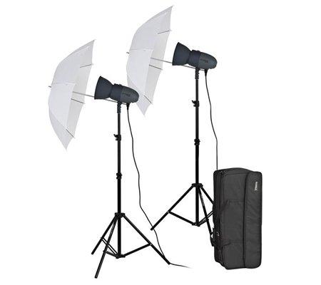 Visico VL-150+ 220V Umbrella Studio Lighting Kit