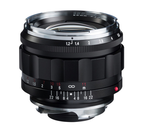Voigtlander For Leica Nokton 50mm f/1.2 Aspherical Lens