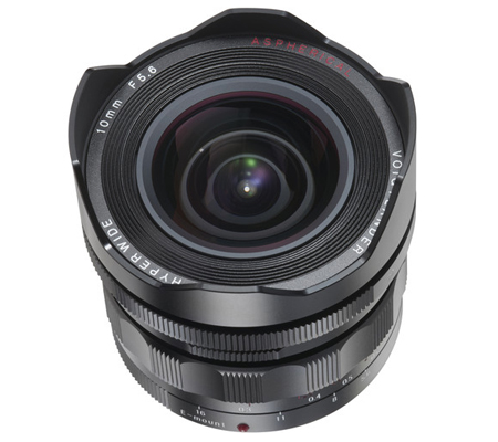 Voigtlander for Sony E-Mount Heliar-Hyper Wide 10mm f/5.6 Aspherical