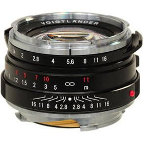 Voigtlander for Leica M 40mm f/1.4 Nokton.