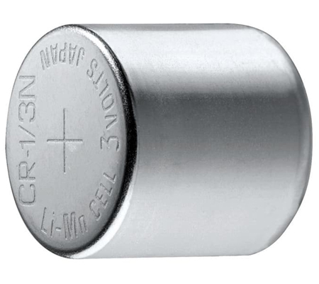 CR-1/3N 3Volt Lithium Photo Battery