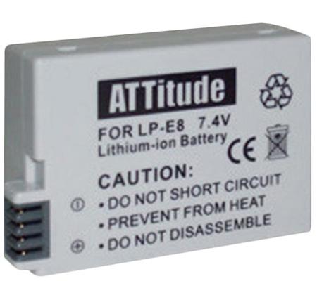 ATTitude Canon LP-E8 Battery