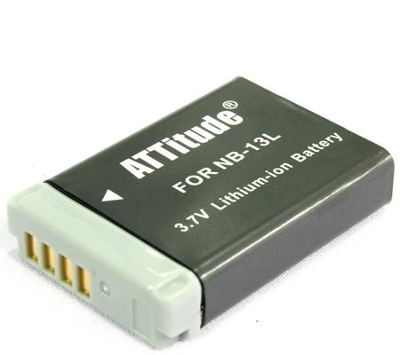 ATTitude Canon NB-13L Battery