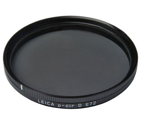 Leica E72 Circular Polarizer Glass Filter (18673)