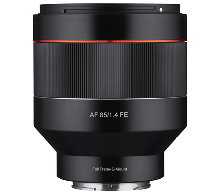 Samyang for Sony E-Mount 85mm f/1.4 Aspherical IF Lens