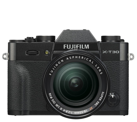 Fujifilm XT30 Kit 18-55mm F/2.8-4 OIS Black