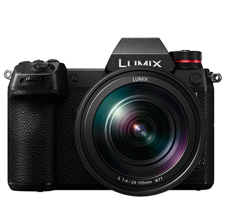 Panasonic Lumix DC-S1 kit 24-105mm F/4 Mirrorless Digital Camera