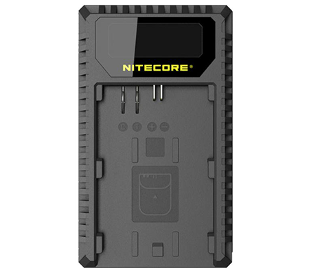Nitecore UCN1 USB Travel Charger for Canon LP-E6, LP-E6N, and LP-E8