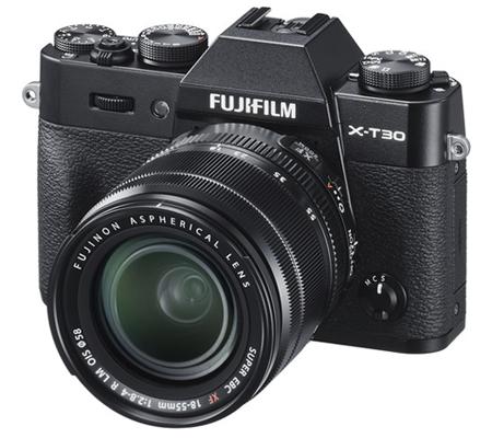 Fujifilm XT30 Kit 18-55mm F/2.8-4 OIS Black