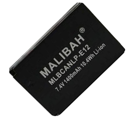 Malibah MLBCANLP-E12 Battery for Canon EOS-M / 100D