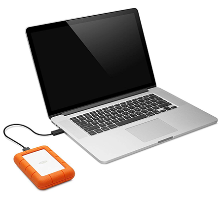 LaCie Rugged Mini LAC9000633 [USB 3.0/4 TB] Harddisk