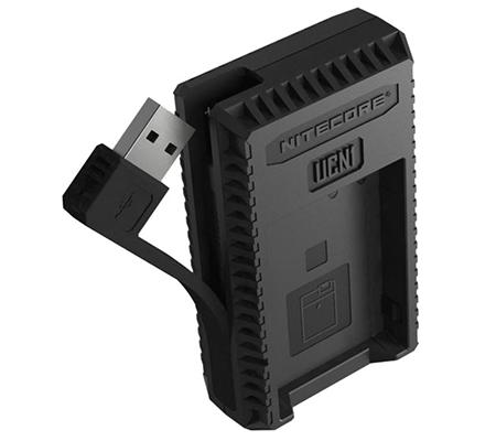 Nitecore UCN1 USB Travel Charger for Canon LP-E6, LP-E6N, and LP-E8