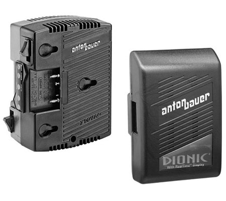 Anton Bauer DIONIC 90 Lithium-Ion Battery + Anton Bauer TWIN Charger