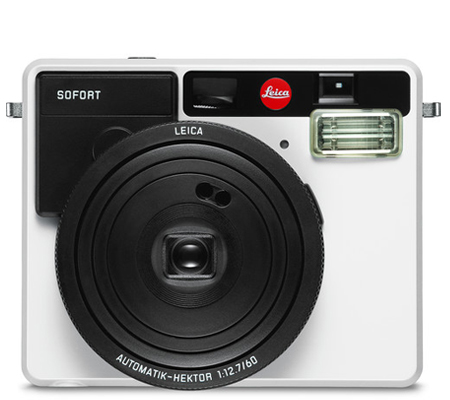 Leica Sofort Instant Film Camera White