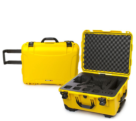 Nanuk 950 Waterproof Hard Case with Foam for DJI Phantom 4/4 Pro/4 Pro+ Yellow